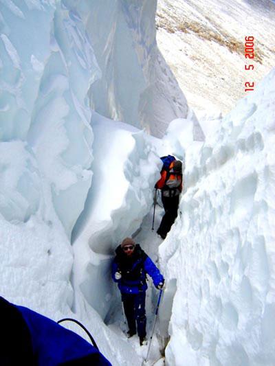 Прохождение ледника