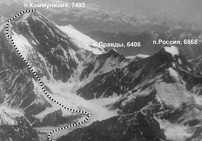 Пик Коммунизма, 1959 г.